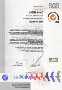 Certificate ISO-9001